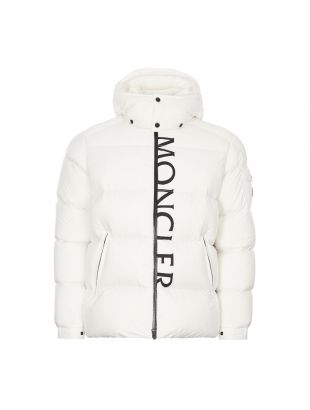Maures Jacket - White / Black