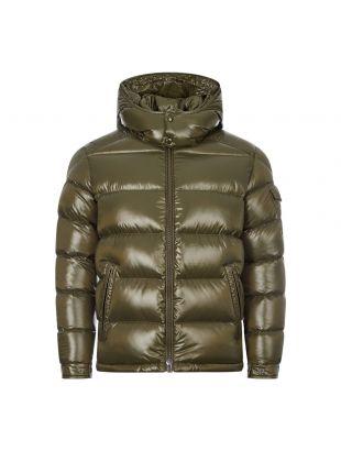 moncler maya jacket 1A536 00 68950 833 green