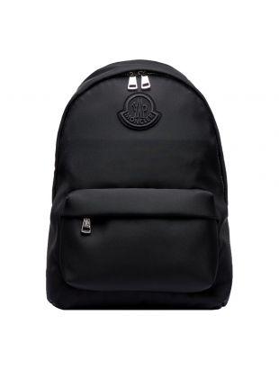 Moncler Pierrick Backpack, 5A704 00 02STE 999 Black, Aphrodite 1994
