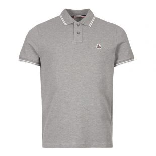 Moncler Polo Shirt 83043 00 84556 984 Grey