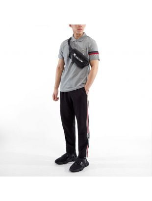 Polo Shirt Stripe - Grey