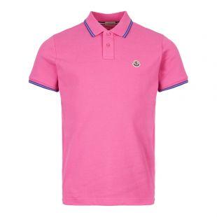 Moncler Polo Shirt 83043 00 84556 530 Pink