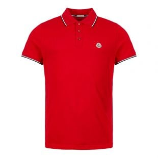 moncler polo shirt 83456 00 84556 448 red