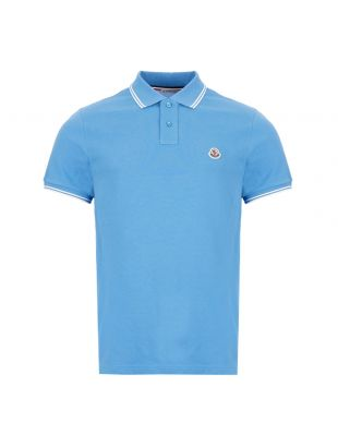 moncler polo shirt | 8A706 00 84556 705 blue