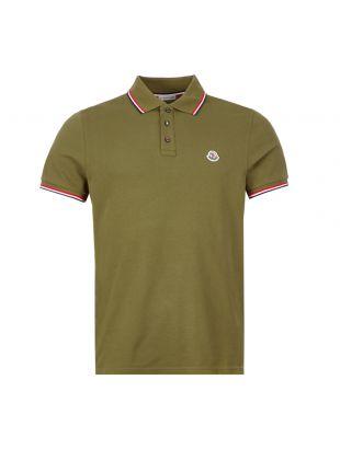 Moncler Polo Shirt | Green 8A703 00 84556 829 | Aphrodite