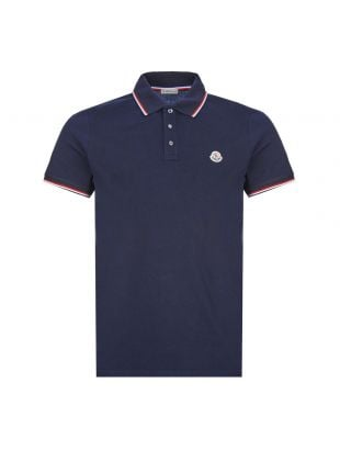 Moncler Polo Shirt | Navy 83456 00 84556 773