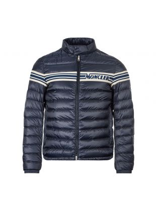 Moncler Renald Jacket 8C707|10|8390T|001 In Navy At Aphrodite Clothing