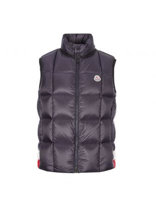 moncler rochefort gilet 1A209 00 C0609 742 navy