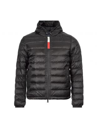 Moncler Rook Jacket 8C707|10|8390T|001 In Black At Aphrodite Clothing