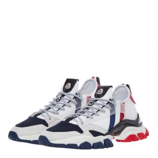 Trainers Trevor - White / Red / Blue