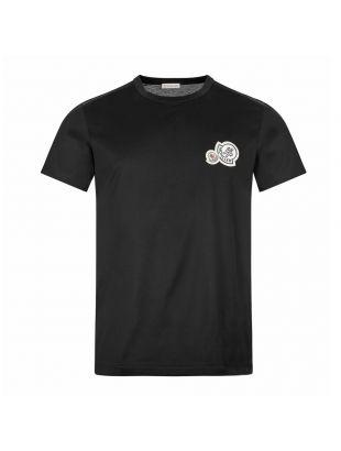 moncler t-shirt 8C781 00 8390Y 999 black