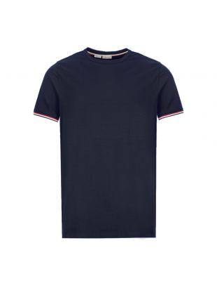 Moncler T-Shirt 8C716 00 87296 778 Navy