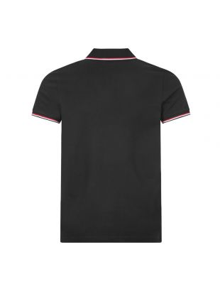 Polo Shirt Twin Tipped - Black