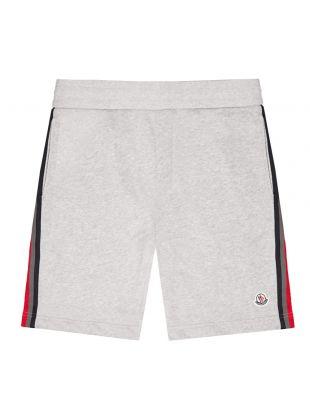 moncler sweatshorts|8H708 00 8098U 910 grey