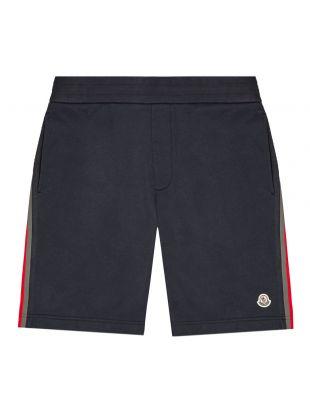 moncler sweatshorts|8H708 00 809U 778 navy