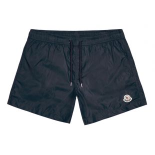 Moncler Swim Shorts Logo | 2C708 00 53326 473 Navy