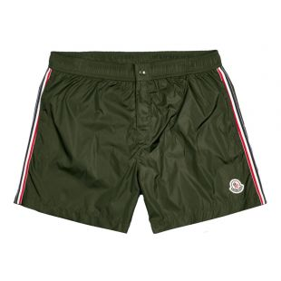 moncler swim shorts 2O707 00 53326 833 forest green