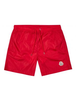 moncler swim shorts 2C708 00 53326 455 red