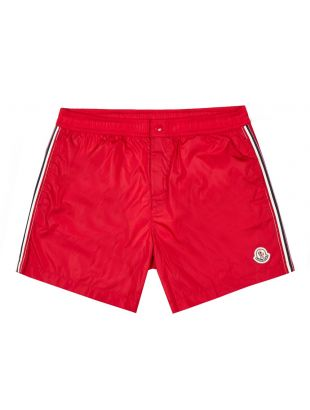 Moncler Swim Shorts | 2C707 00 53326 455 Dark Red