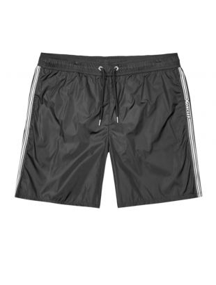 Swim Shorts Logo - Black