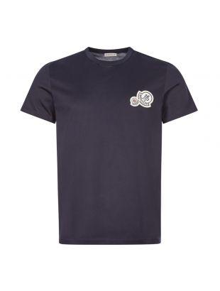 Moncler T-Shirt | 8c781 00 8390y 670 Navy | Aphrodite 1994