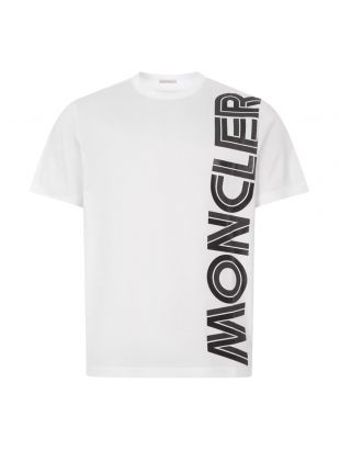 Moncler T-Shirt 8C760 10 8390Y 001 White