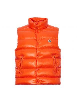 Moncler Tib Vest Gilet | 1A538 00 68950 326 Orange | Aphrodite