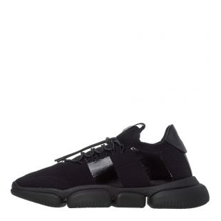 Moncler The Bubble Trainers 4M702|00|02S74|999 In Black At Aphrodite Clothing