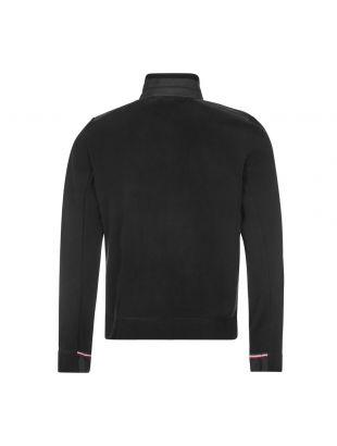 Padded Zipped Cardigan - Black