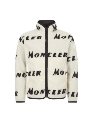 Fleece Jacket Reversible - White / Black