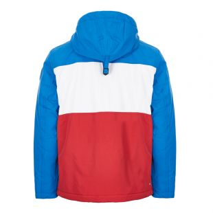 Rainforest Jacket - Red / White / Blue