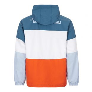 Jacket Algo - Orange / White / Blue