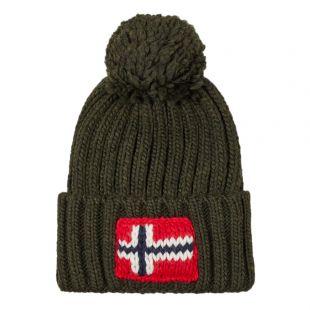 apapijri Bobble Hat Semiury | NOYKCK GE3 Forest Green