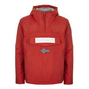 Napapijri Jacket Rainforest 2.0 NA4ECP R01 RED SCARLET