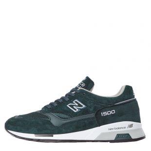 new balance 1500 trainers M1500DGW green