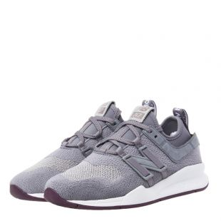 247 Trainers - Light Grey