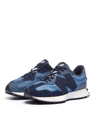 327 Trainers - Blue / Denim