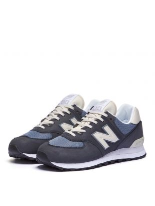 574 Trainers - Navy / Grey