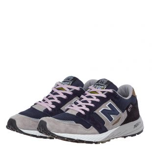 Trail 575 Trainers - Navy