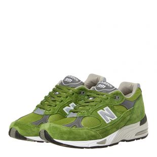 991 Trainers - Green
