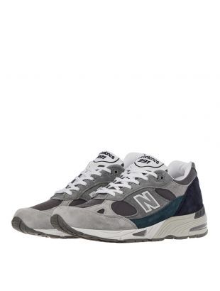 991 Trainers - Grey / Blue