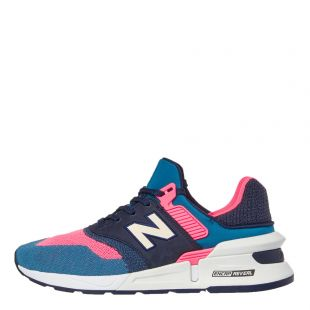 New Balance 997 Sport Trainers MS997 FHB Blue / Pink