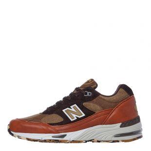 New Balance 991 Trainers | M991SOP Tan / Brown