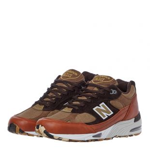 991 Trainers - Tan / Brown