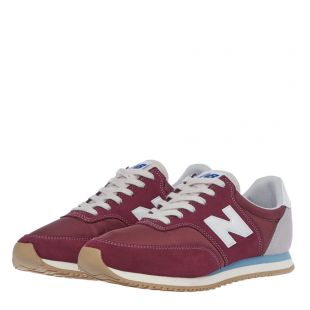 Trainers Comp 100 - Burgundy