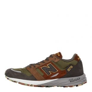 New Balance 575 Trainers | MTL575SO Green / Brown