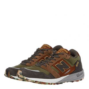 575 Trainers – Green / Brown