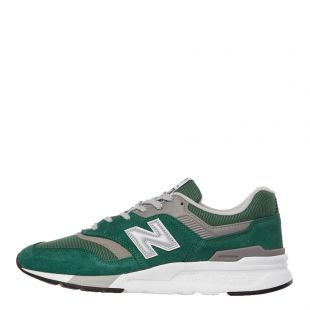New Balance 997H Trainers | CM997HXM Green / Silver