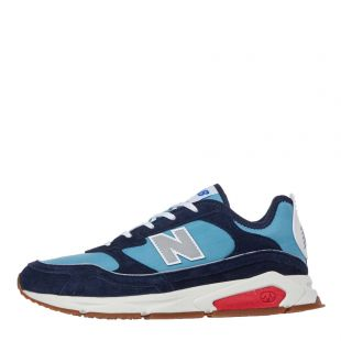 new balance trainers x-racer|MSXLCNL blue