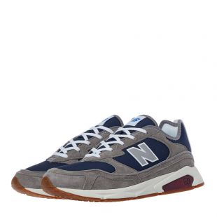 X-Racer Trainers - Grey / Navy